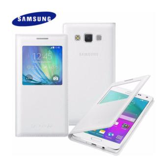 Samsung S View Flip Folio Case for Galaxy A5 2014(White)