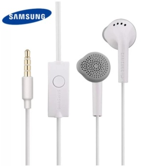 Samsung S5830 Universal Headset with In-Line Multi-FunctionAnswer/Call Button (White)