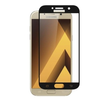 Samsung Tempered Glass Screen Protector for Samsung Galaxy A7 2017(Black)