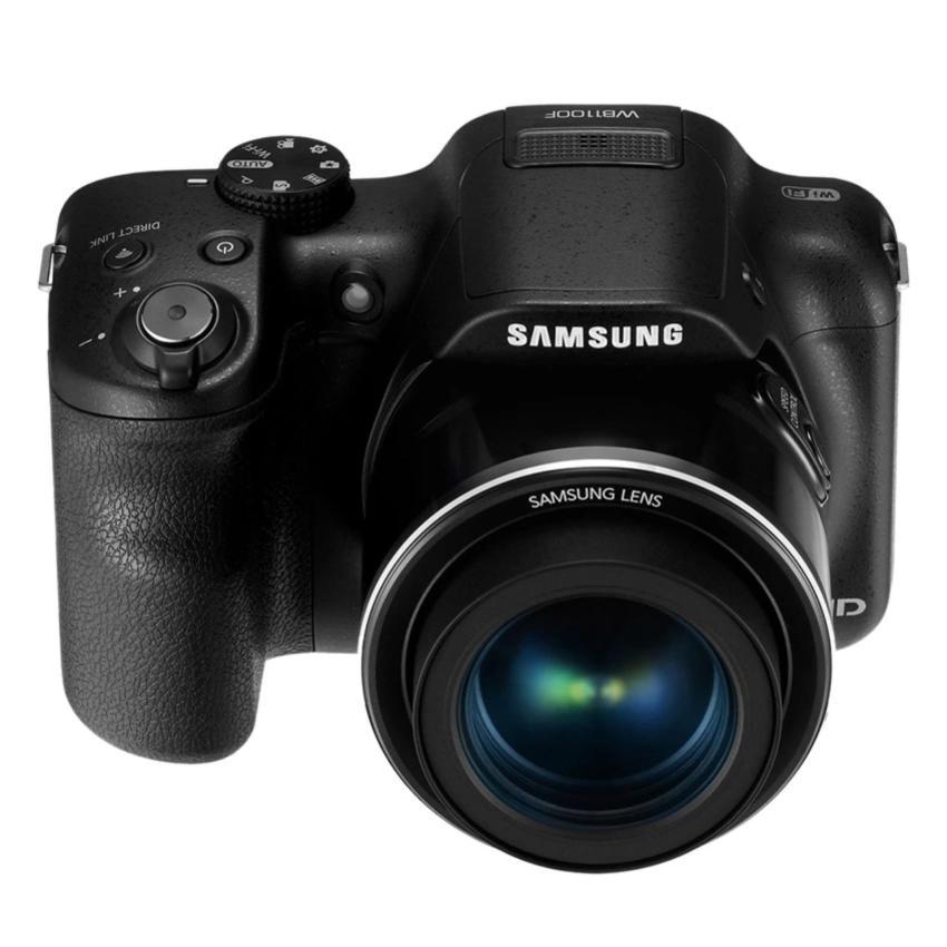 Samsung WB1100F 16MP 35x Optical Zoom Smart Compact Camera (Black)