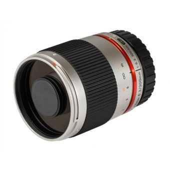 Samyang 300mm f/6.3 ED UMC CS Mirror Lens (Silver) for Sony E‐mount - picture 2