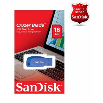 Sandisk 16GB Cruzer Blade USB 2.0 Flash Drive BLUE