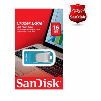 Sandisk 16GB Cruzer Edge USB2.0 Flashdrive BLUE/WHITE