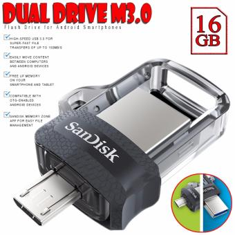 SanDisk 16GB OTG Ultra Dual USB Drive M3.0 Flash Drive for AndroidSmartphones