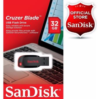 Sandisk 32GB Cruzer Blade USB 2.0 Flash Drive