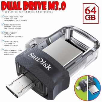 SanDisk 64GB OTG Ultra Dual USB Drive M3.0 Flash Drive for AndroidSmartphones