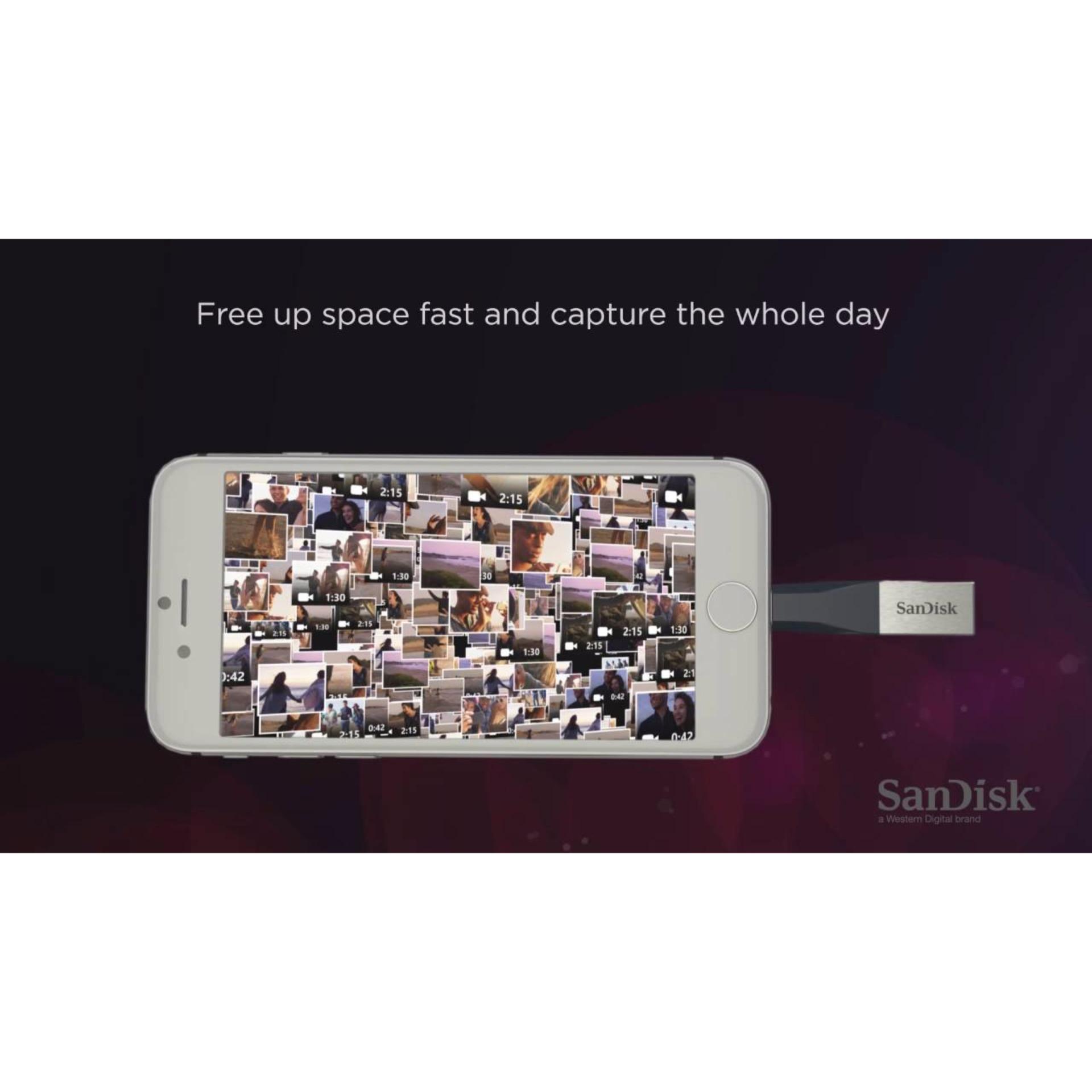 Sandisk Ixpand 128gb Flash Drive For Iphone Ipad Sdix30n 128g Mini Sdix40n 16gb Otg Dual And
