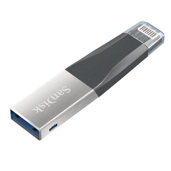 Sandisk SDIX40N 32GB Ixpand Mini USB 3.0 OTG Flash Drive with Lightning Connector for iPhone/iPad - 4