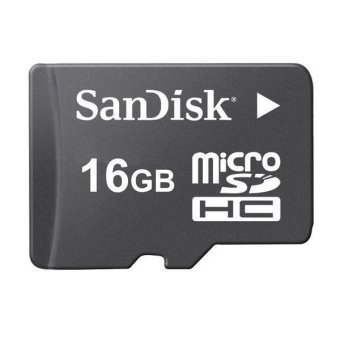 Sandisk SDSDQM-016G Class 4 16GB Micro SDHC Card (Black) - picture 2