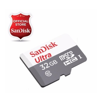 Sandisk Ultra Micro SDHC Class 10 UHS-I 32GB SDSQUNS-032G - NEW MODEL (Speed up to 80MB/s)
