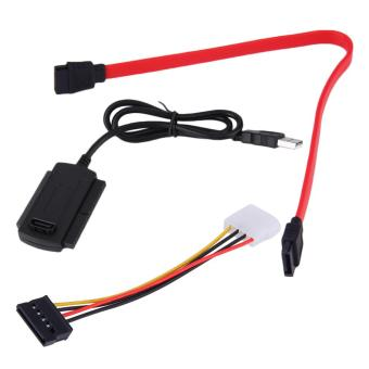 SATA/PATA/IDE Drive to USB 2.0 Adapter Converter Cable For 2.5/3.5Hard Drive