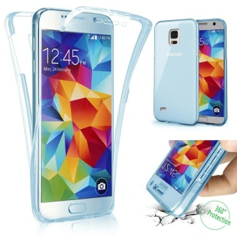 Scratch Proof 360 Front and Back Full Body Protection SemiTransparent Flexible TPU Bumper Case Anti-Scratch Protective Casefor Samsung Galaxy Note 5 - intl