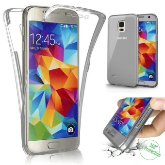 Scratch Proof 360 Front and Back Full Body Protection TransparentFlexible TPU Bumper Case Anti-Scratch Protective Case for SamsungGalaxy S4 i9500 - intl