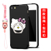Se iphone5s cartoon drop-resistant protective silicone case phone case