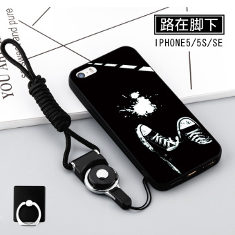 Se iphone5s silicone five Apple soft case phone case