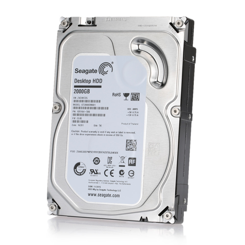 Philippines | Seagate 2TB Desktop HDD Internal Hard Disk