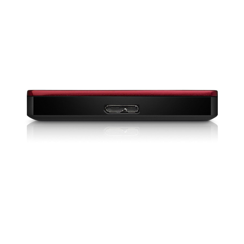 Seagate Backup Plus Slim 1TB Portable External Hard Drive USB 3.0(Red .