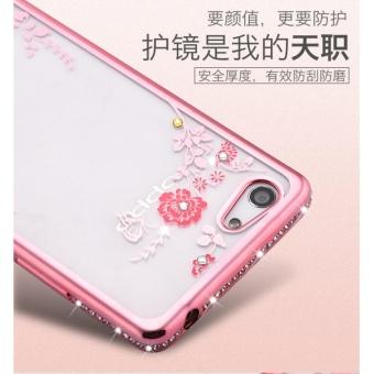 Secret Garden Plating TPU phone case For OPPO F3 (Rose Gold)