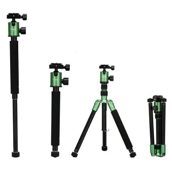 Selens 62inch T-170 Tripod & Monopod with Ball Head for DSLRCamera (Green)