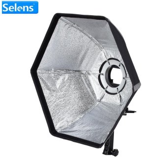 Selens Foldable Umbrella Flash Studio Diffuser Softbox HexagonSoftbox For Studio Fashion Portrait Beauty Photo - intl