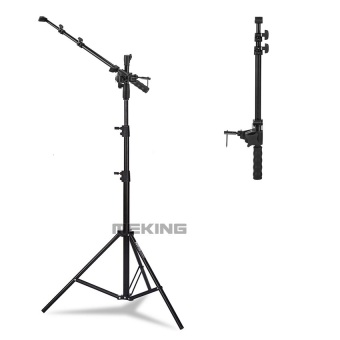 Selens M11-086 Photo Studio Reflector Holder Holding Arm Support + W803-II Light Stand Tripod