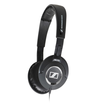Sennheiser Stereo Headset for iPhone HD218i (Black)