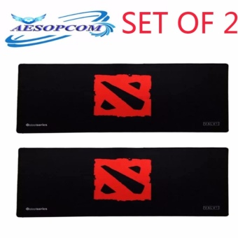 (SET OF 2)SteelSeries Long Extender Gaming Mouse Pad Large for Keyboard Mouse