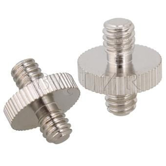 "Set of 5 1/4"""" to 1/4"""" Male Screw Converter Adapter - picture 2"