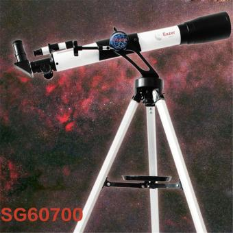 SG60700 Astronomical View HD Monocular Telescope(White Black ) -intl
