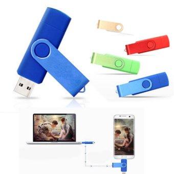 SHINE 1TB Dual OTG USB 3.0 Phone Port U-Disk Pen Flash DriveMemoryStick for Mobile Phone (green) - intl - 2
