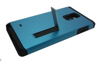 Shockproof Case with Stand for Samsung Note 4 (Blue)
