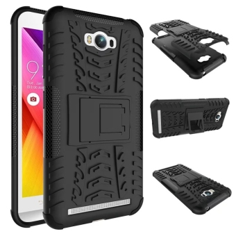 Shockproof Kickstand Case Cover for Asus ZenFone Max ZC550KL(Black)
