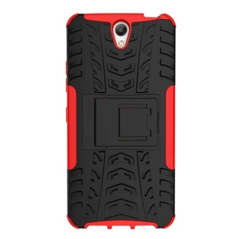 Shockproof Kickstand Case Cover for Lenovo Vibe S1 (Red) - 3