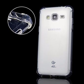 Shockproof TPU + PC Case for Samsung J1 Mini Prime (Clear) - 2