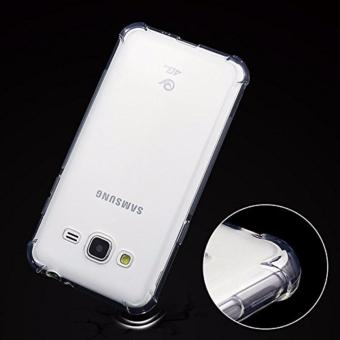 Shockproof TPU + PC Case for Samsung J1 Mini Prime (Clear) - 4