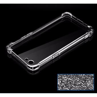 Shockproof TPU + PC Case for VIVO Y55 (Clear)