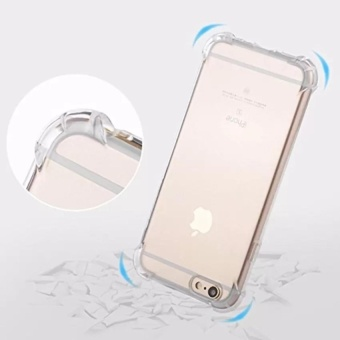 Shockproof-Ultra-thin-TPU-Case-Cover For Iphone 6 plus /6s plus(Clear)
