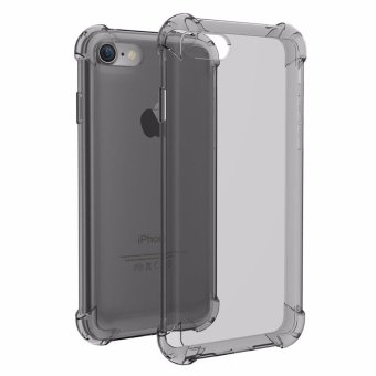 Shockproof-Ultra-thin-TPU-Case-Cover For Iphone 6/6s (Black)