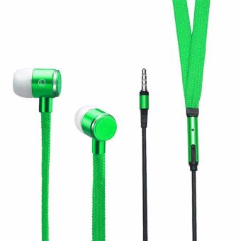 Shoelace Design Earphone (Green) Price Philippines