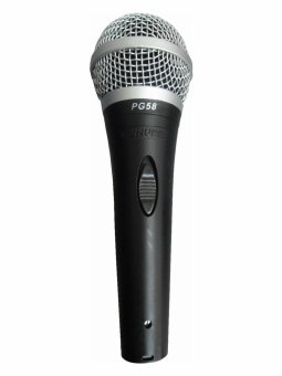 Shure PG58 Performance Gear Vocal Microphones (Black) Price Philippines
