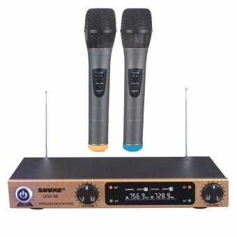 Shure UGX88 Handheld Dual Wireless Microphone System (Black)