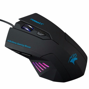 Silent Frosted Ergonomics 2400dpi Adjustment USB 6D Wired OpticalComputer Gaming Mouse Mice for Computer PC Laptop for Dota 2 - intl