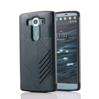 Silicon + PC Combo Case for LG V10 (Navy)