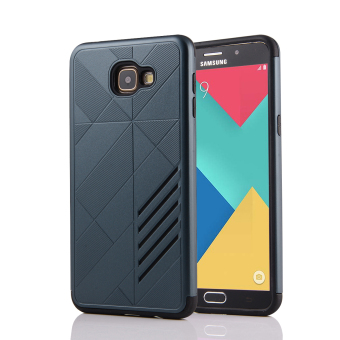 Silicon + PC Combo Case for Samsung Galaxy A9 (Navy) - Intl