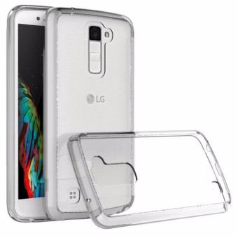 Silicone Clear Case For LG K10 (2016) (Clear)