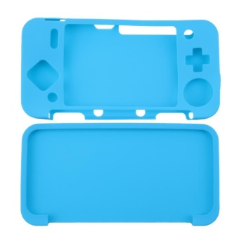Silicone Cover Skin Case for New Nintendo 2DS XL /2DS LL GameConsole(Blue) - intl