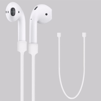 Silicone Ear Loop Strap Anti Lost String Rope Cord for AppleAirPods - intl - 3