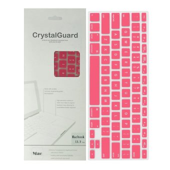 Silicone Keyboard Protector Keypad Cover for MacBook 13 inch (Pink)
