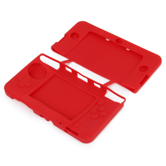 Silicone Protective Case for New Nintendo 3DS Red - picture 2