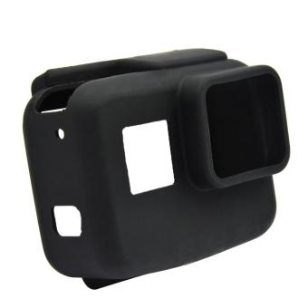 Silicone Protective Cover Protector Case Shell Accessory for Gopro Hero 5 Action Camera Black - intl